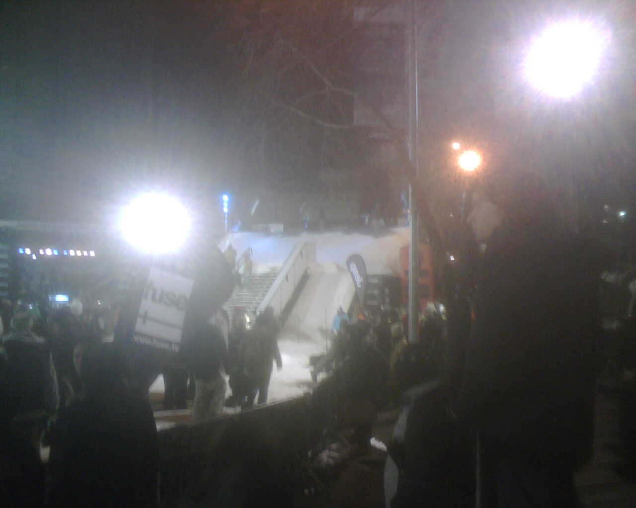 Union Square Rail Jam